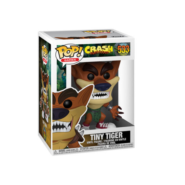 Crash Bandicoot - POP!- Vinyl Figur Tiny Tiger