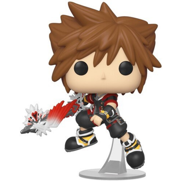 Kingdom Hearts - POP!-Vinyl Figur Sora mit Ultima Waffe
