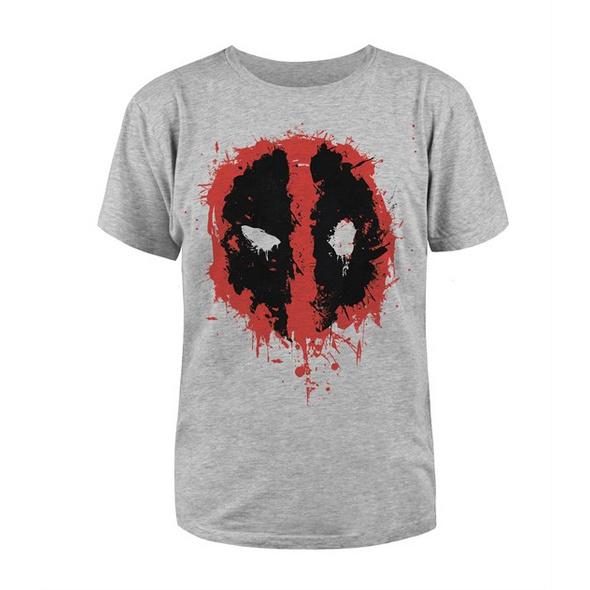 Deadpool - T-Shirt Grau (Größe M)