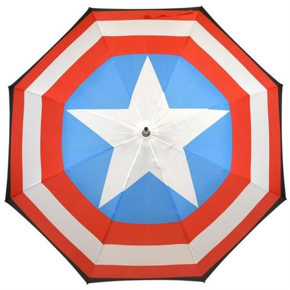 Marvel Captain America - Regenschirm Schild