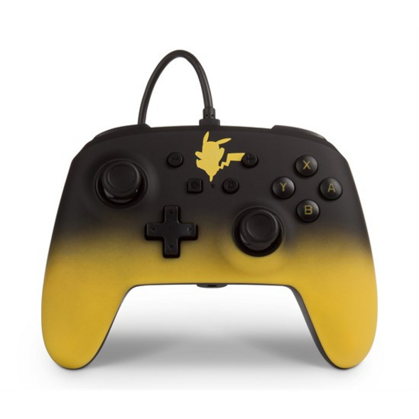 Nintendo Switch PowerA Wired Controller Pikachu Fade
