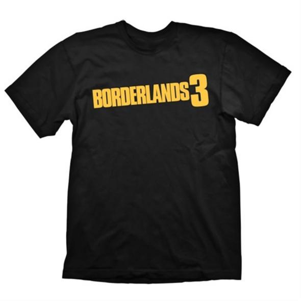 Borderlands 3 - T-Shirt Logo Schwarz (Größe S)