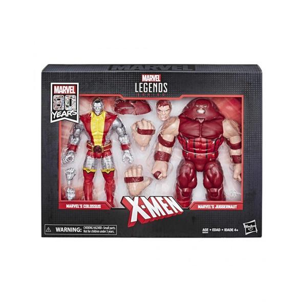 Marvel Comics - Actionfigur Colossus und Juggernaut