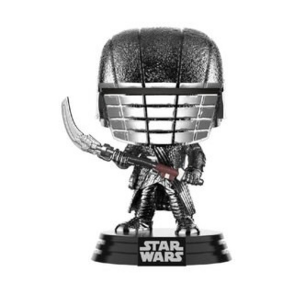 Star Wars - POP!-Vinyl Figur Ritter von Ren Sense (Chrome)
