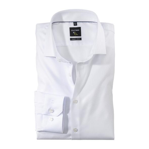 OLYMP No. Six Hemd, super slim, Royal Kent