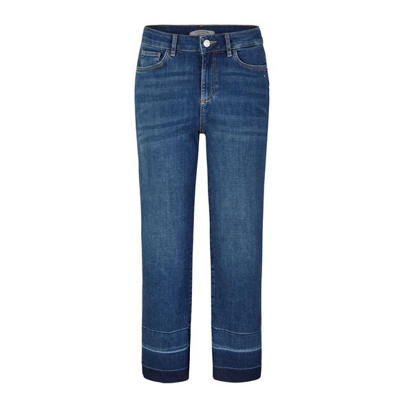 Regular Fit: Jeans mit Cropped leg - Jeans