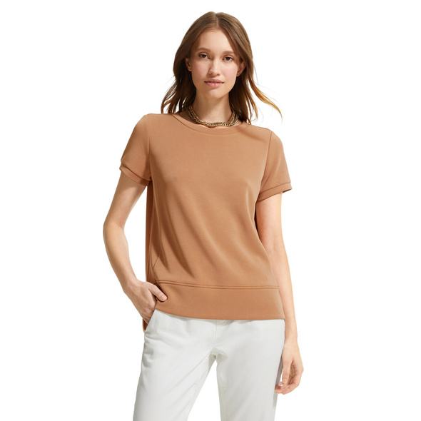 Shirt mit verlängertem Rückensaum - Jerseyshirt