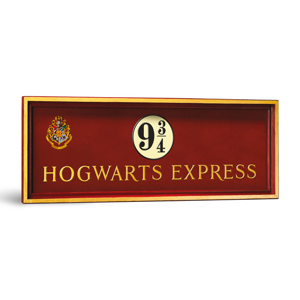 Harry Potter - Gleis 9 34 Wandbild