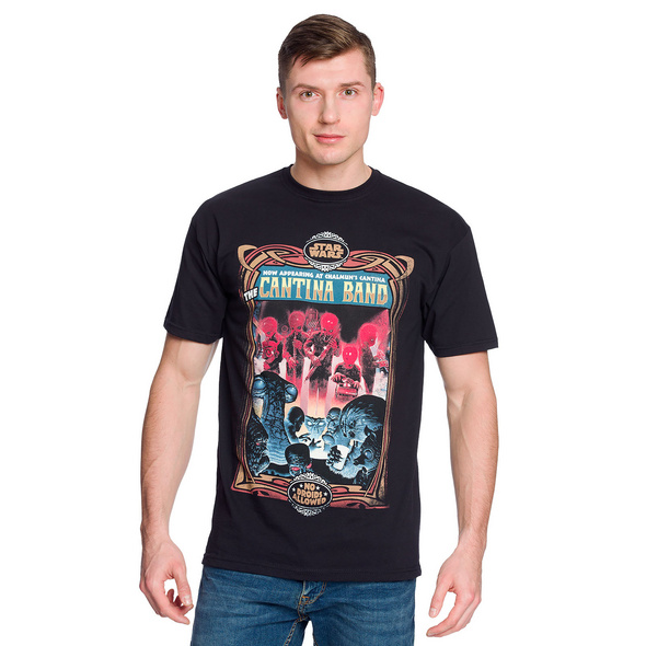 Star Wars - Chalmuns Cantina Band T-Shirt schwarz