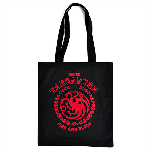 Game of Thrones - Targaryen Wappen Jutebeutel