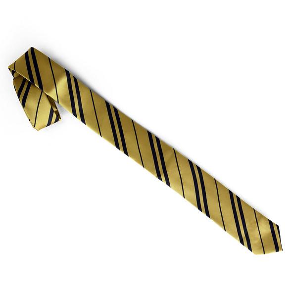 Harry Potter - Schmale Hufflepuff Krawatte