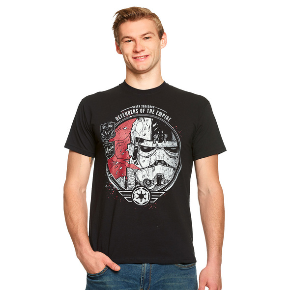 Star Wars - Black Squadron T-Shirt schwarz