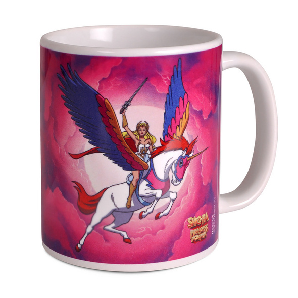Masters of the Universe - She-Ra mit Swift-Wind Tasse