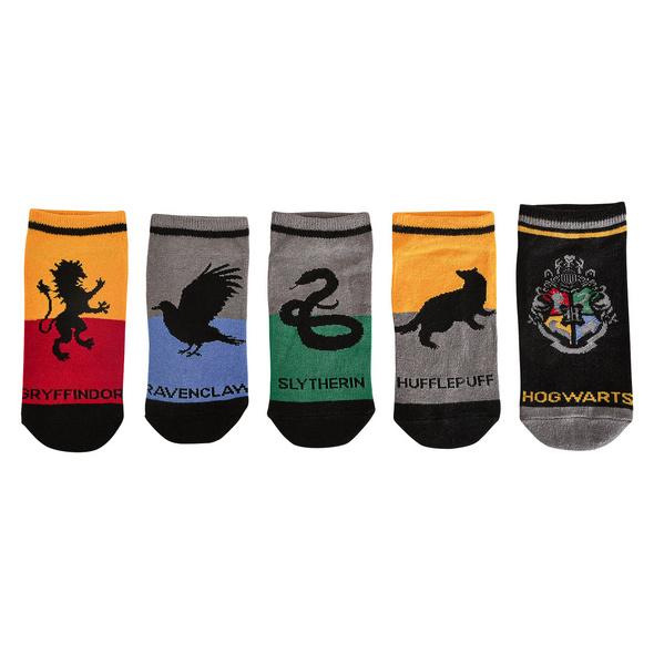 Harry Potter - Hogwarts Socken 5er Set