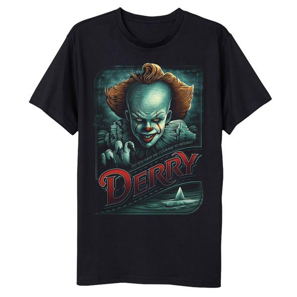 Stephen Kings ES - Return to Derry T-Shirt schwarz