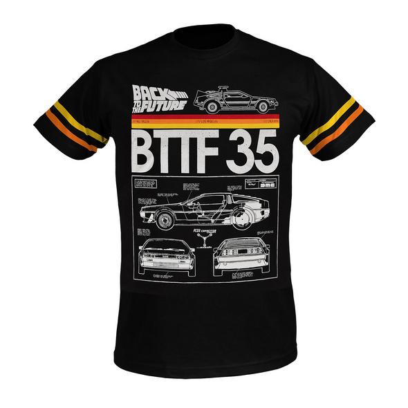 Zurück in die Zukunft - BTTF 35 T-Shirt schwarz