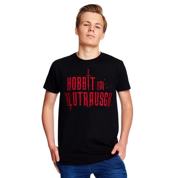 Blutrausch T-Shirt für Herr der Ringe Fans schwarz