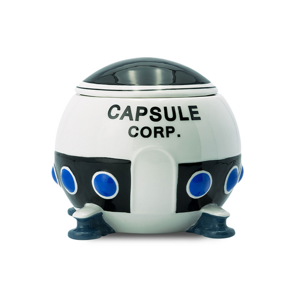 Dragon Ball - Capsule Corp. Spaceship 3D Tasse mit Deckel
