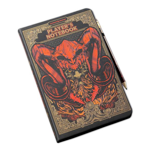 Dungeons & Dragons - Players Notizbuch A5 mit Bleistift