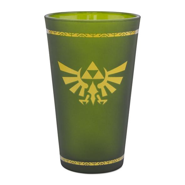 Zelda - Hyrule Logo Glas