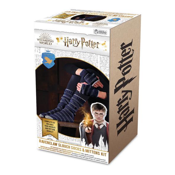Harry Potter - Ravenclaw Handschuhe & Strümpfe Strick-Set