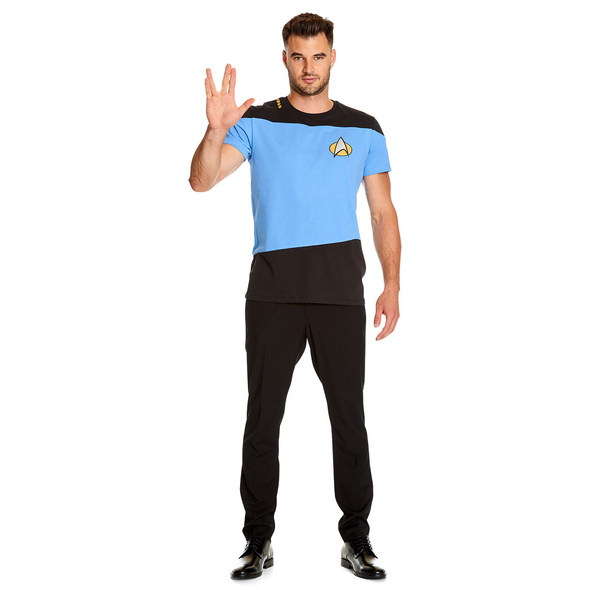 The Next Generation Uniform T-Shirt blau - Star Trek