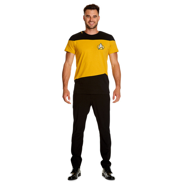 The Next Generation Uniform T-Shirt gelb - Star Trek