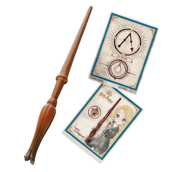 Harry Potter - Luna Zauberstab mit Zauberspruchkarte