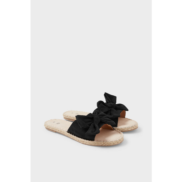 Sandalen - Velourslederimitat