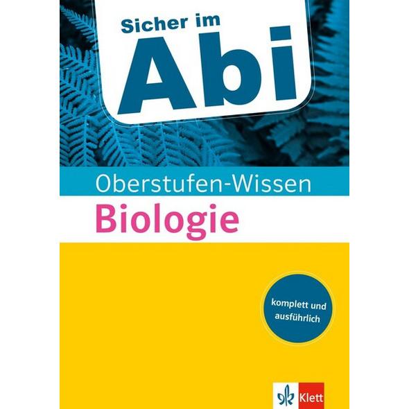 Sicher im Abi Oberstufen-Wissen Biologie