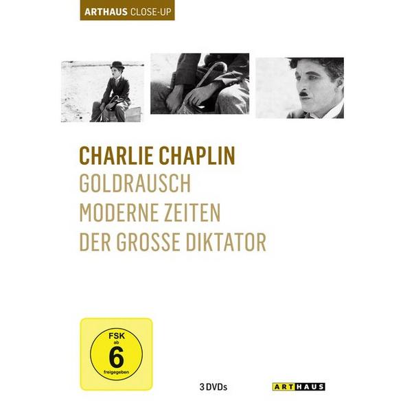 Charlie Chaplin - Arthaus Close-Up  [3 DVDs]