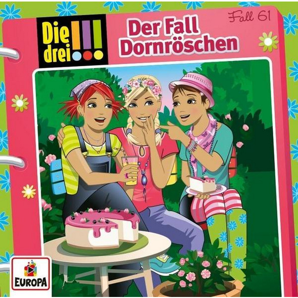 Die drei !!!: Der Fall Dornröschen, 1 Audio-CD