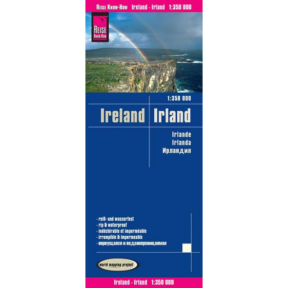 Reise Know-How Landkarte Irland / Ireland (1:350.000)