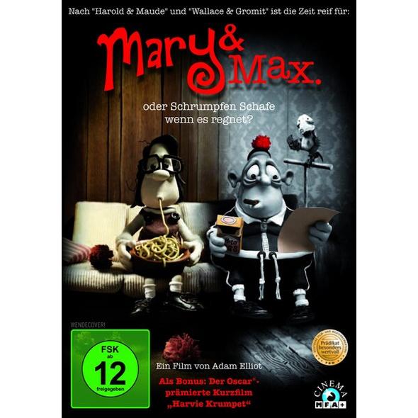 Mary & Max oder Schrumpfen Schafe wenn es regnet