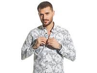 Modisches Hemd mit Print