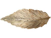 Haarspange - Goldblatt