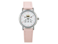 Kinder Uhr - Crowned Cat