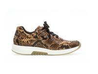 Sneaker low Leder Reptiloptik
