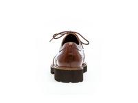Schnürschuhe Glattleder