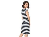 Lässiges Sommerkleid im Streifenlook - Musterkleid