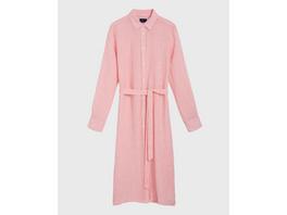 Linen Chambray Shirt Dress