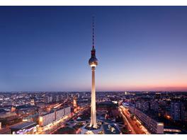 Städtetrip Berlin mit Fernsehturm-Dinner für 2 (2 Tage)