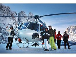 Heliskiing auf Südtirols Dolomiten