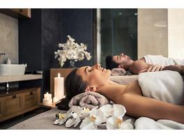 Romantische Massage für 2