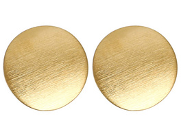 Ohrstecker - Brushed Gold