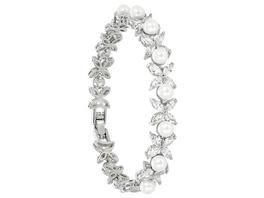 Armband - Flowery Pearls