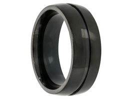 Ring - Black Steel