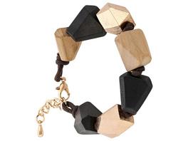 Armband - Metallic Wood