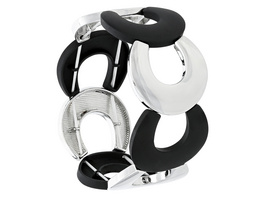 Armband - Black & Silver