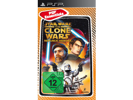 Lucas Arts Star Wars Clone Wars Republic Heroes Essentials
